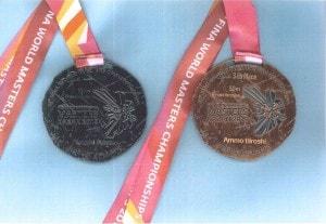 水泳メダル